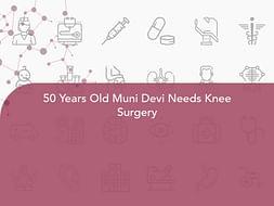 50 Years Old Muni Devi Needs Knee Surgery