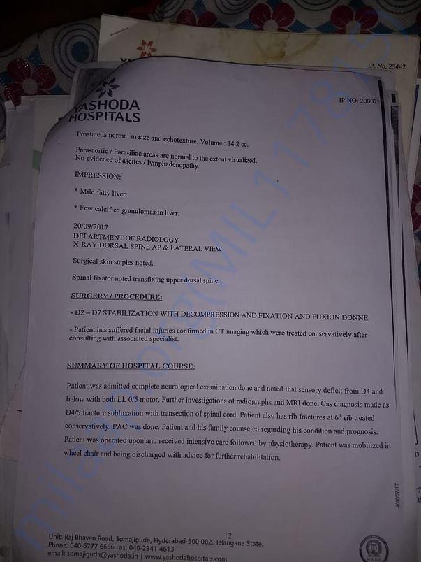 MEDICAL REPORT pg2