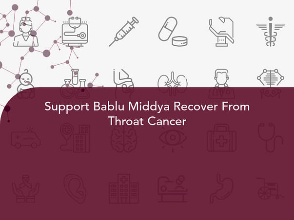 Support Bablu Middya Recover From Throat Cancer