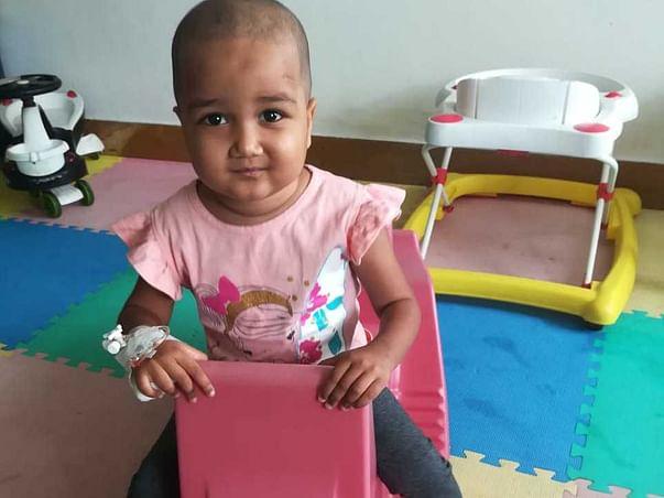 Help Baby Aysha Nowfa Battle Cancer