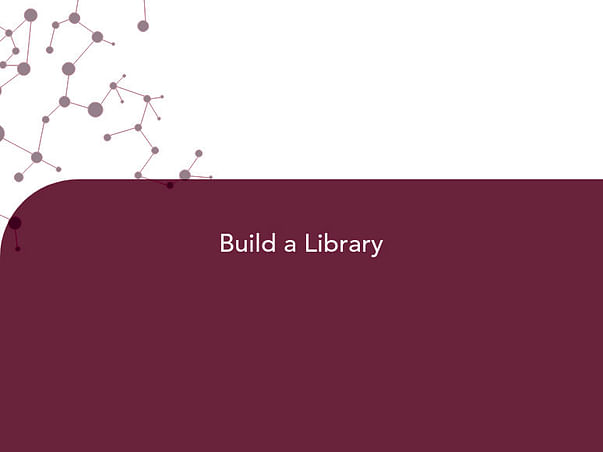 Help Me Build A Library