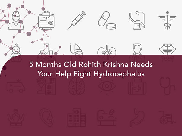 5 Months Old Rohith Krishna Needs Your Help Fight Hydrocephalus