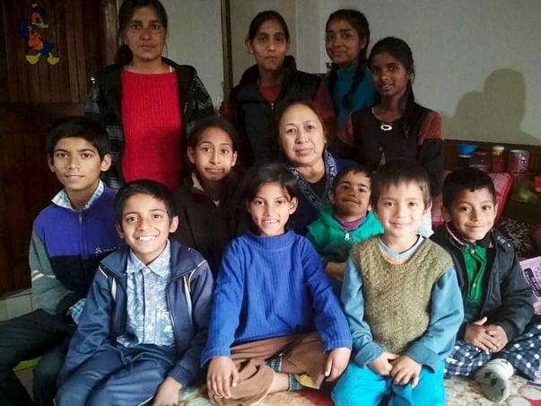 Help Sudershana Thakur provide a secure home for the children