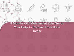 8 Months Old Mohammad Zain Needs Your Help To Recover From Brain Tumor