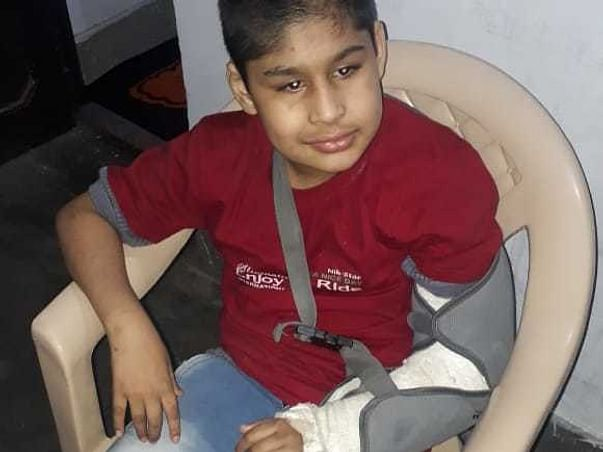 Support Adnan And Rehan Recover From Blindness And Disability