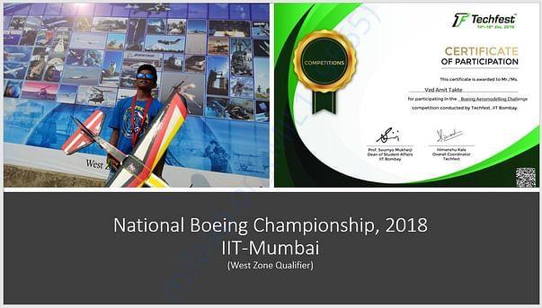 Boeing Championship - IIT Mumbai 2018