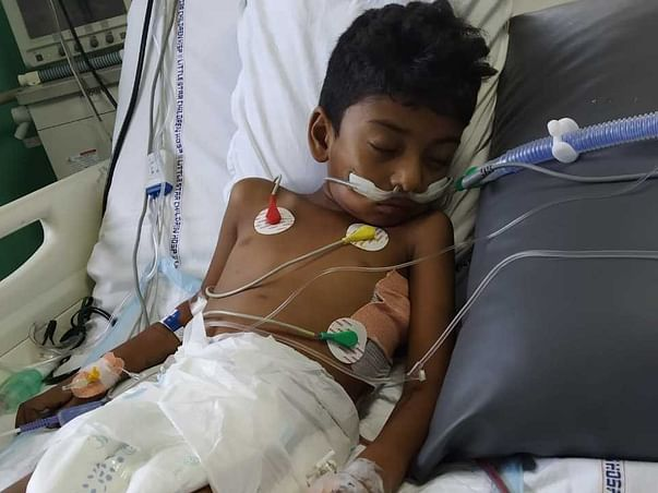 7 Years Old Rithish Needs Your Help Fight Metastatic Carcinoma Lung