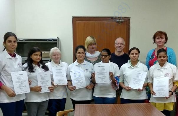 1st Batch of Medical Tactile Examiners with Dr Frank Hoffman & Team