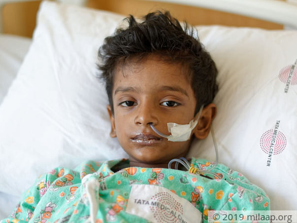 5 Years Old Aditya Srivastav  Needs Your Help Fight Leukemia
