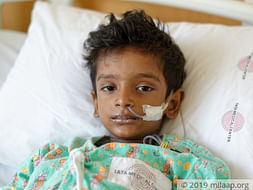 On His 5th Birthday, He Was Lying Unconscious Because Of Cancer