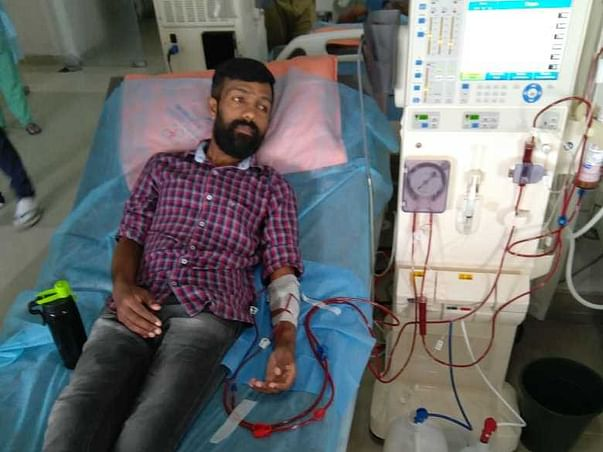 Please help my brother Koaushik for his second kidney transplant