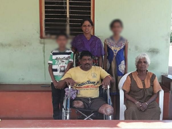 Help Sudhakar And His Family