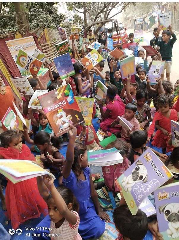 Books distribution