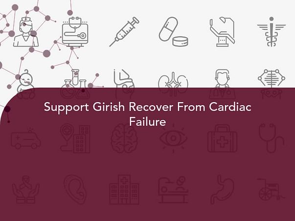 Support Girish Recover From Cardiac Failure