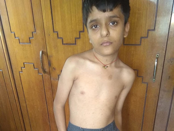 12 years old Lakshya Dugar needs your help .