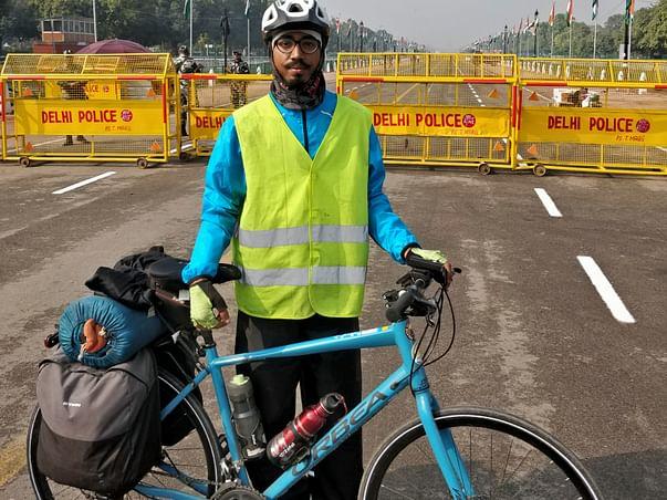 Solocycling On Jai Jawan Jai Kisan& Reduce Single Use Plastic