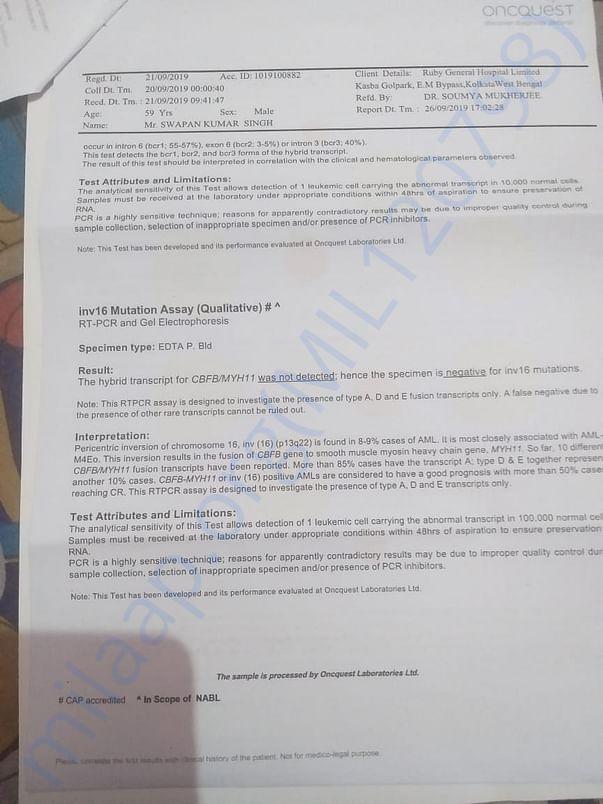 Initial Biopsy Report 3