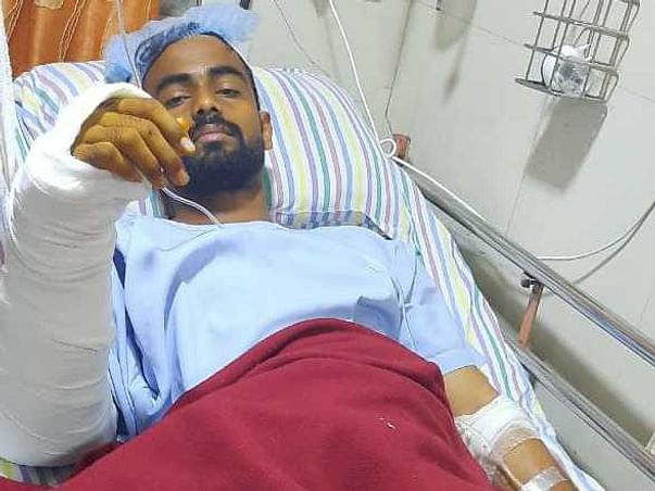 Help My Son Bharat Shelar to Recover From a Major Train Accident