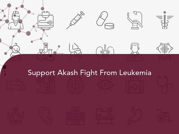 Support Akash Fight From Leukemia
