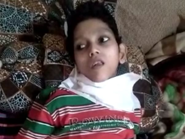 Help Sameer To Fight Cerebral Palsy