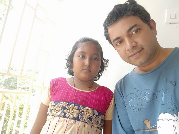 12 Years Old Mou Ghosh Needs Your Help To Fight Brain Tumor