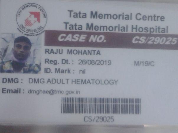 Support Raju Mohanta Recover From Leukemia