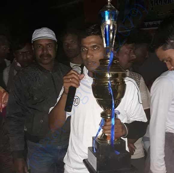 Cricket tournament winner trophy USSA