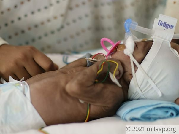 Help Santhoshi's Baby Fight Respiratory Distress And Sepsis