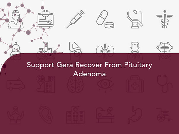 Support Gera Recover From Pituitary Adenoma