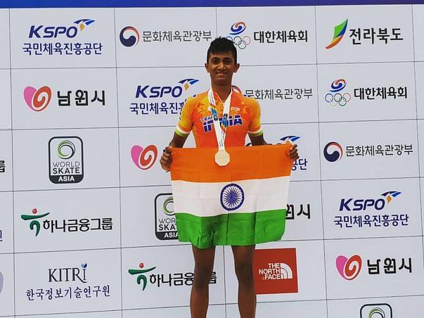 Help Dhanush make India proud in Speed Skating