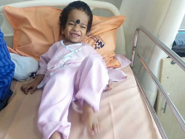 3 Years Old Sayan Panda Needs Your Help Fight Osteopetrosis