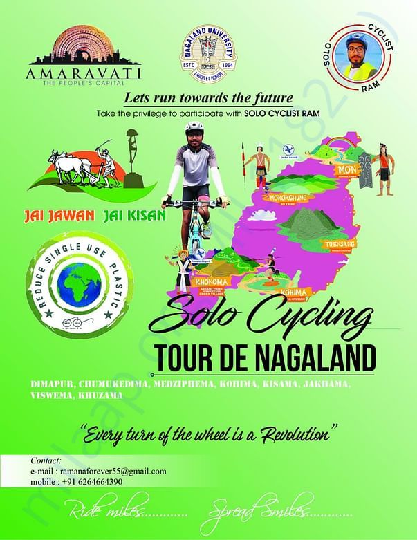 Solo Cycling in Nagaland JAI JAWAN JAI KISAN