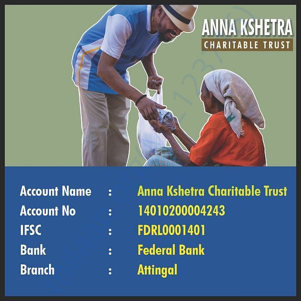 Direct charity account details
