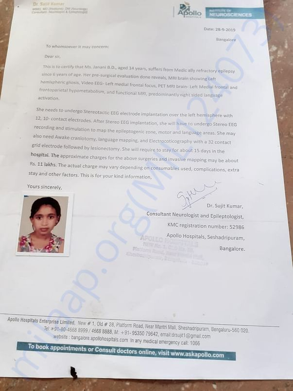 verification document