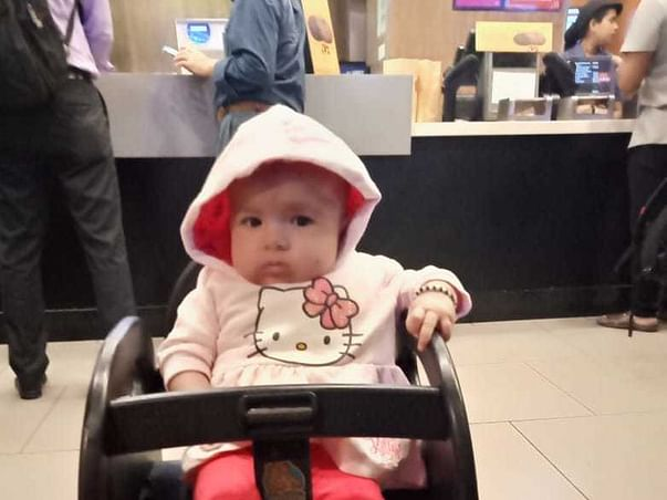 Support Baby Of Jafarali Khan Recover From Lung Infection