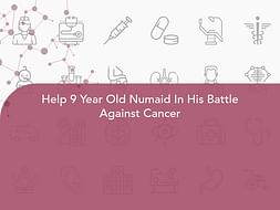 Help 9 Year Old Numaid In His Battle Against Cancer