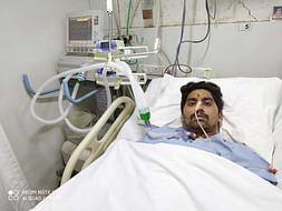 Help 28 Years Old Vaibhav Veldurkar Recover From Paralyzed Body.