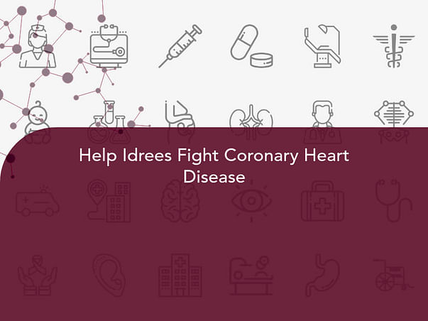 Help Idrees Fight Coronary Heart Disease