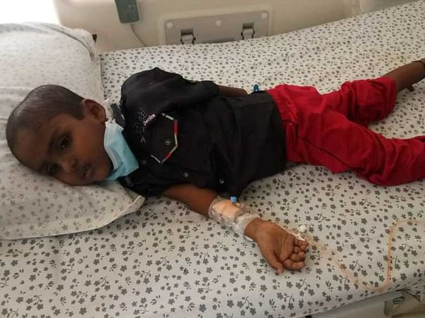 5 Years Old Vedanth Needs Your Help Fight Blood Cancer