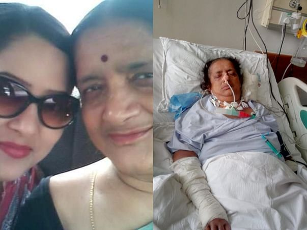 My mother is struggling with Ganglio Thalamic Brain stroke, help her fight this.
