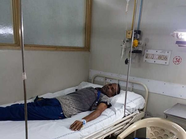 Biswajit Is Fighting With Lung Cancer. Help Him To Win This War.