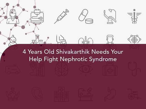 4 Years Old Shivakarthik Needs Your Help Fight Nephrotic Syndrome