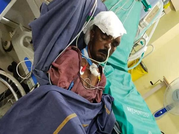 Help To 45yrs old poor man diagnosed as RTA HEAD INJURY . DM FRACTURE