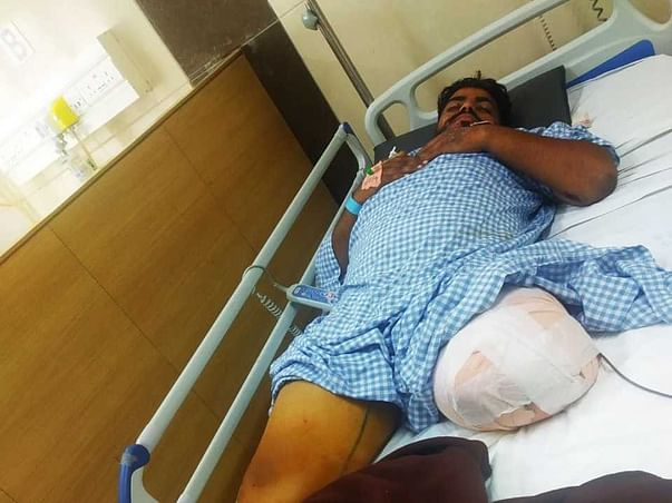Help Abhishek S K Recover From Accident