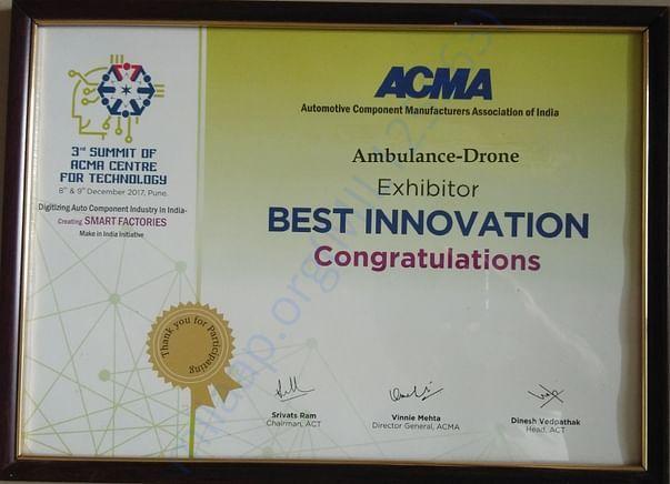 ACMA innovation AWARD