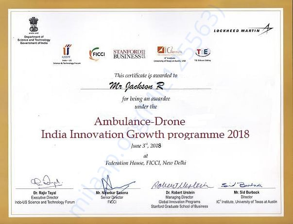 Indian Innovation Growth programme 2018