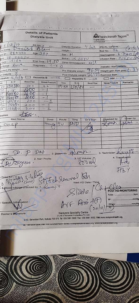 dialysis report