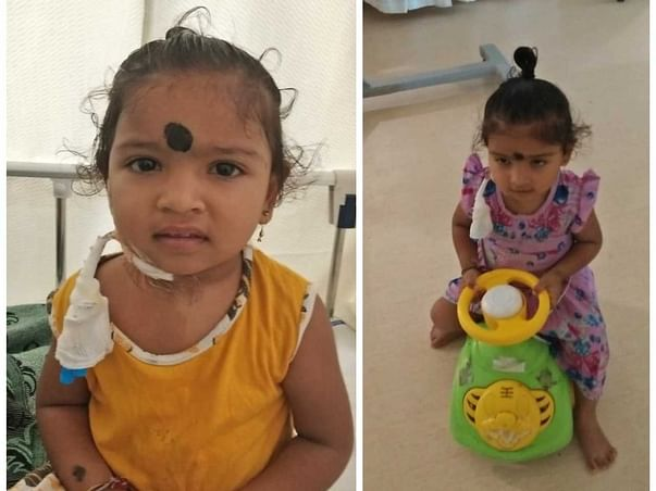 3 Years Old Vahini Needs Your Help Fight Blood Cancer