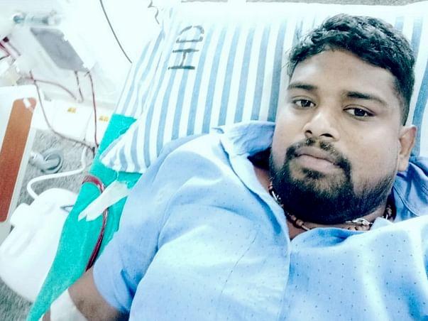 Please help him undergo Kidney transplant (both kidney failure)