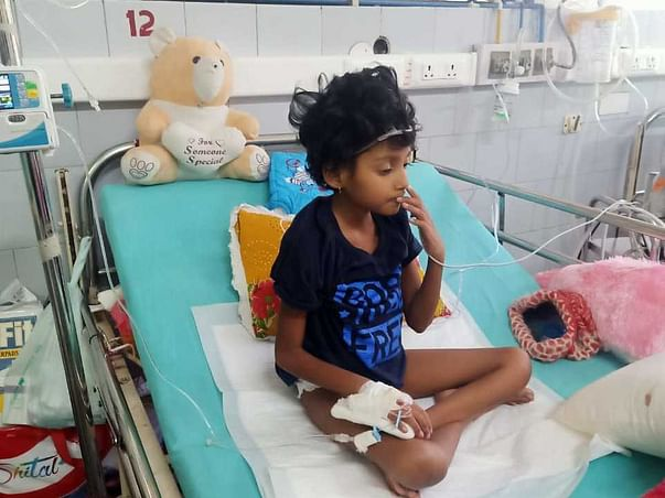 Help 6Yrs Old Trishika to Fight Systemic Juvenile Idiopathic Arthritis